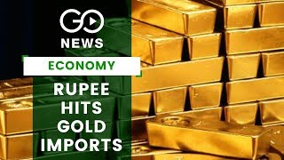 Gold Imports Dip, Deficit Up