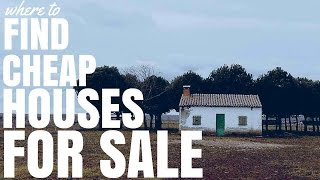 Where To Find Cheap Houses For Sale (Ep137)