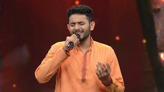 #Super4 | Vishnu -  Devasabhathalam ragilamakuvan | Mazhavil Manorama