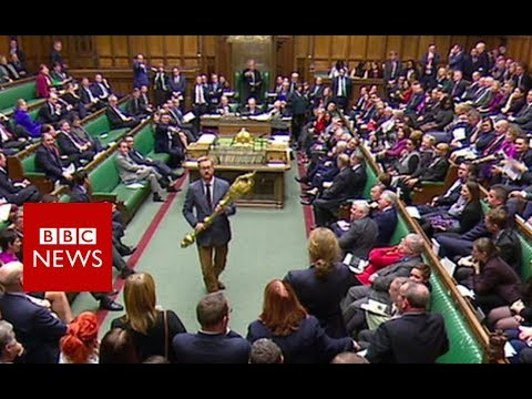 Xxx Mp4 Commons Stir As Labour MP Picks Up Mace BBC News 3gp Sex
