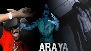 I GOTTA CRAMP IN MY BOOTY MEAT AFTER INSANE JUMPSCARE || ARAYA CHAPTER 4 Oculus Rift