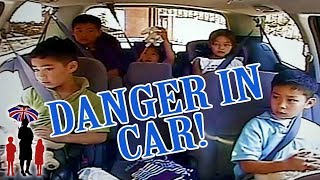 Dangerous Behavior In The Car Has To Stop! | Supernanny