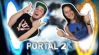 PIJN DOOR EEN LASERSTRAAL!! - Portal 2 met Eva