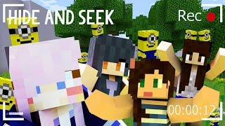 Minecraft Hide and Seek | Minions!