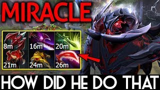 Miracle- Dota 2 [Shadow Fiend] How did he do that??