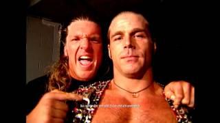 Stone Cold vs Shawn Michaels 05