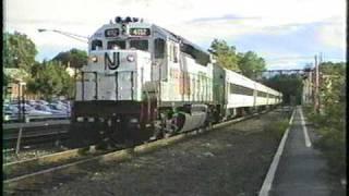 NJ Transit at Waldwick with GP40P