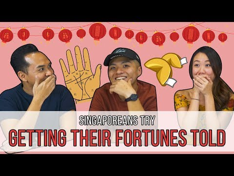 Singaporeans Try: Getting Their Fortunes Told (CNY Special)