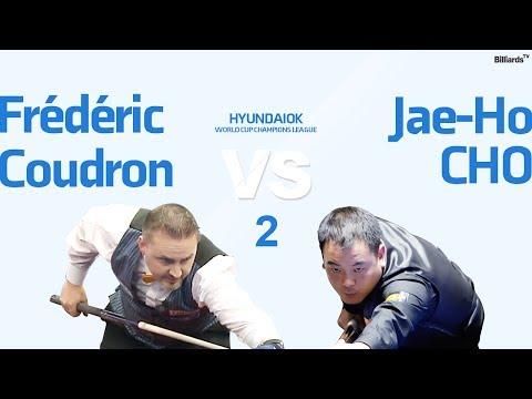 당구 Billiard 3 Cushion Frédéric Coudron v Jae Ho Cho World Cup Champions League Full 2