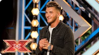 Drew Wedlake covers The White Stripes for a spot at Boot Camp | Auditions Week 2 | The X Factor 2017