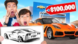 You Draw, I Buy It Challenge with My Family!