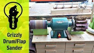 Grizzly Drum Flap Sander Combo - Tool Talk & Tips (eps) #1