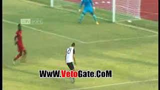 شيكابالا يتقدم بالهدف الاول منتخب مصر فى شباك غانا