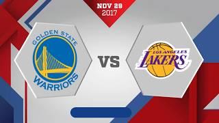 Golden State Warriors vs. Los Angeles - November 29, 2017