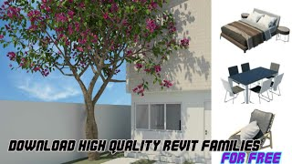 Download High Quality Revit Families For Free