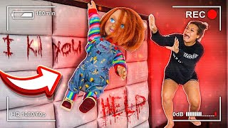 CHUCKY DOLL IS ALIVE PRANK ON GIRLFRIEND!!! (SHE WENT CRAZY)