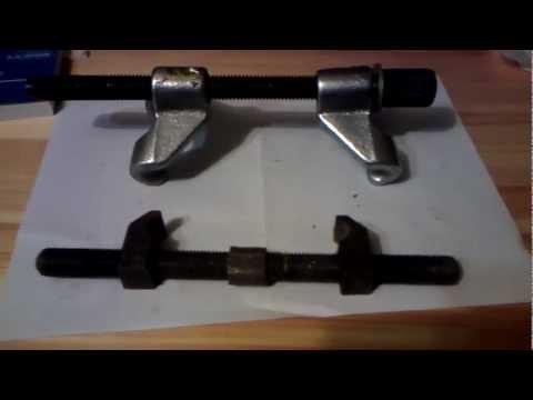 Как сделать съемник для пружин своими руками ваз