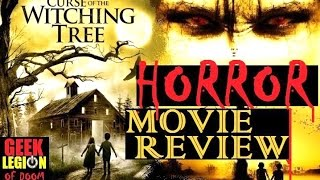 CURSE OF THE WITCHING TREE ( 2015 Lucy Clarvis ) Horror Movie Review