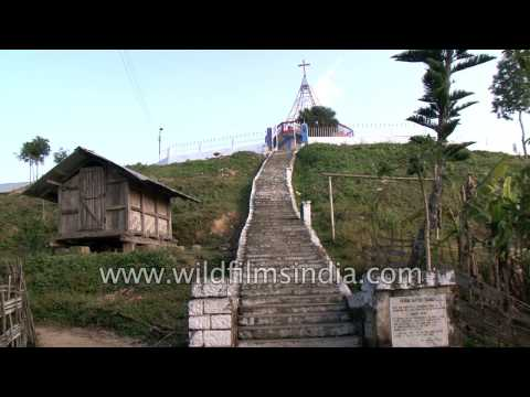 Yikhum village in Nagaland