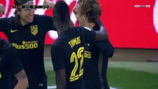 هدف مباراة اتلتيكو مدريد واسبانيول انطوان جريزمان الدوري الاسباني HD