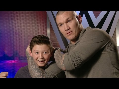 This kid thinks he can counter Orton s RKO only on WWE Network