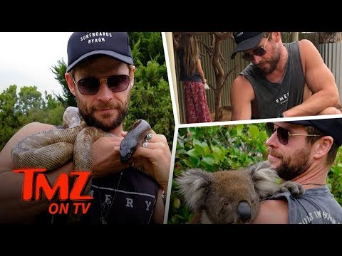 Chris Hemsworth Is A Hot Jungle Man! | TMZ TV