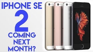 iPhone SE 2? Is it happening?