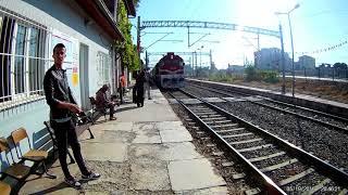tcdd-izban (izmir mavi treni) muradiye-basmane(izmir)