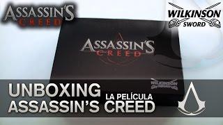 Assassin's Creed La Película (Movie) 2016 | UNBOXING | WILKINSON SWORD