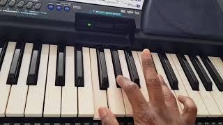 Rumba Sebene Afro Beat keyboard/Piano Tutorial lead and bass guitar
