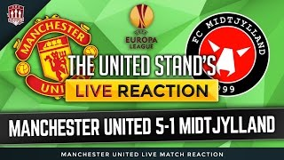 Manchester United vs FC Midtjylland 5-1   Marcus Rashford & Memphis Depay goals win it!