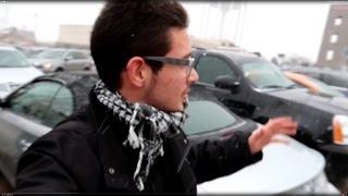 شاهد ردة فعل عراقي اول مرة يشوف ثلج بحياته !!