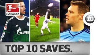 Top 10 Saves - 2015/16 Season