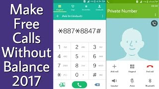 Make Free Unlimited Calls without Balance 2017 (100% Working) All Over world