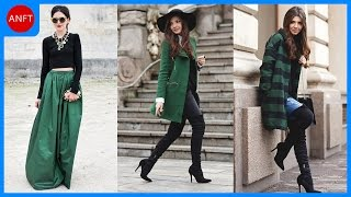 How To Wear Emerald Green - Fashion Inspirations