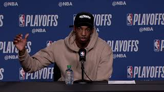 Delon Wright Postgame Interview / Raptors vs Wizards Game 5
