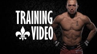 George st. Pierre | TRAINING VIDEO | HD 1080p |