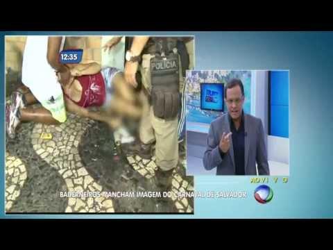 CARNAVAL DE SALVADOR 2015 TERMINA COM TIROS MORTE E MUITA VIOLENCIA