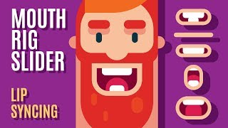 How to Build a MOUTH RIG For LIP SYNCING ( 2D Animation Tutorial in After Effects ) Gigantic Slider