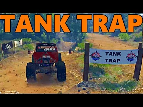Spin Tires TOP TRUCK CHALLENGE - Coal Chute and TANK TRAP