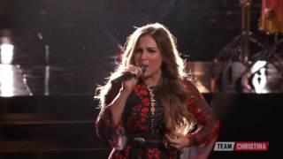 The Voice 2016 Alisan Porter   Top 9   Cryin