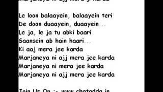 Jee Karda Lyrics (Chalni Karde Seena) - Badlapur