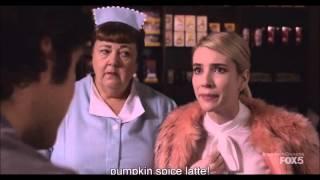 Scream Queens - Chanel #1, Coffee Scene
