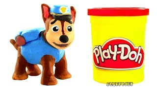 Paw Patrol Stop Motion Play Doh Kids Playtime Toys Family Fun Pretend Play Funny Video for childrem