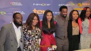MOVIE PREMIERE: 'ROAD TO YESTERDAY' PRODUCED BY GENEVIEVE NNAJI