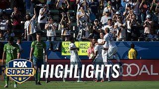 LA Galaxy vs. Seattle Sounders | 2018 MLS Highlights
