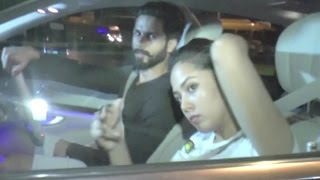 Shahid Kapoor And Mira Rajput ANGRY Look To The Media Reporters!
