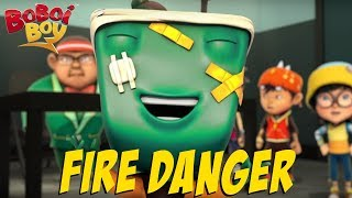 BoBoiBoy [English] S3EP16 - Fire Danger