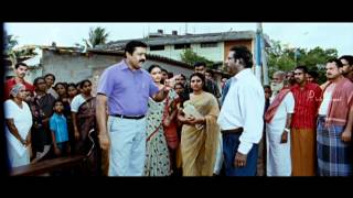 Malayalam Movie | Collector Malayalam Movie | Suresh Gopi Solves Water Problem