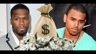 50 Cent REACTS to Chris Brown NEW RCA DEAL Youngest Artist to Own His Masters worth MILLIONS